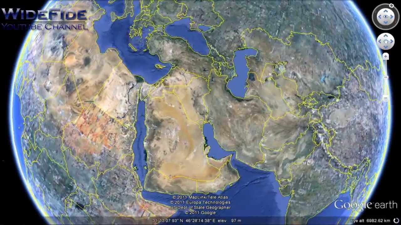 Google Earthで謎の場所ばかり集めてみた
