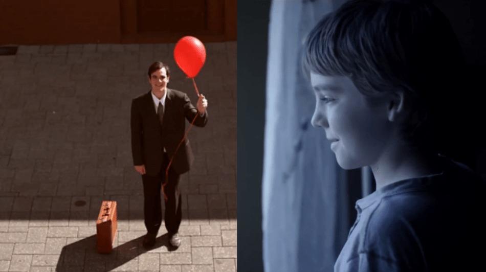 病弱で日々寂しそうに外を眺める少年と、それに気付いたサラリーマンの感動のショートストーリー