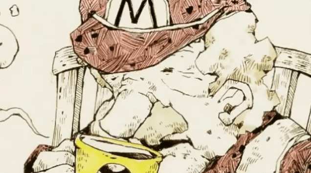 【感動】マリオの老後を描いた作品が切なイイ!日本人アーティストによる海外で評価されている作品!!