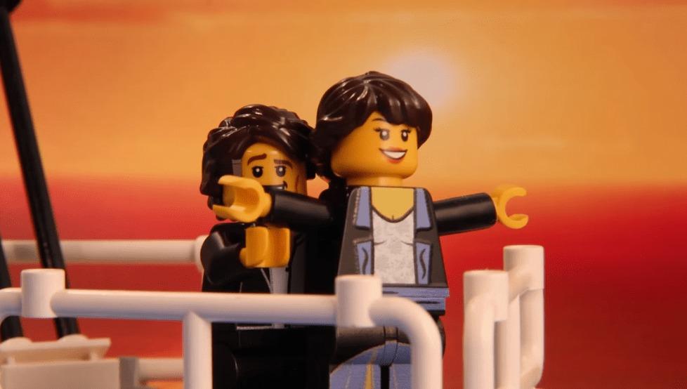 LEGOブロックで映画の名場面を再現!!しかも映像を作ったのは15歳の少年!