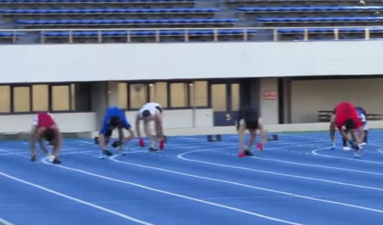 四足歩行で人類最速の日本人!ギネス記録樹立の映像