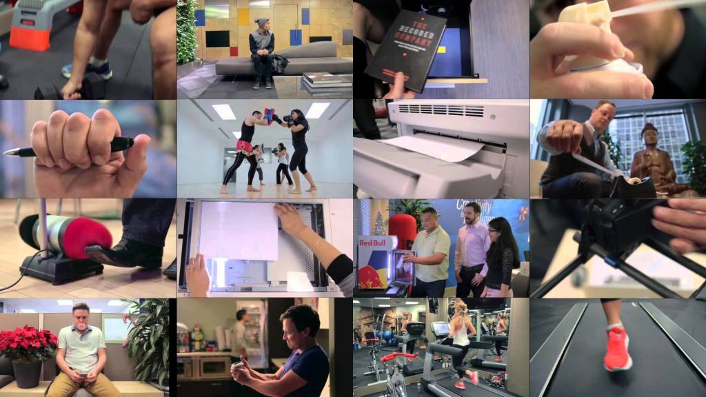 オフィスの色々な音を組み合わせて「ジングルベル」を演奏した映像がおもしろい!!