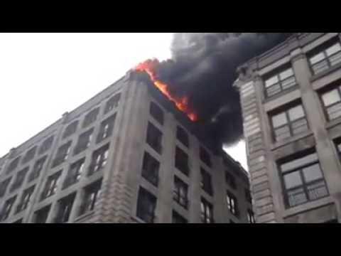 火を消す為なら手段を選ばない強引すぎる消防車の驚きの行動とは?
