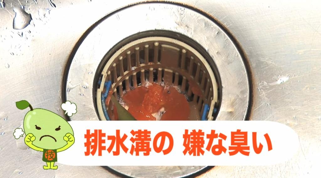 排水溝の嫌な匂いを一発で防ぐ方法!