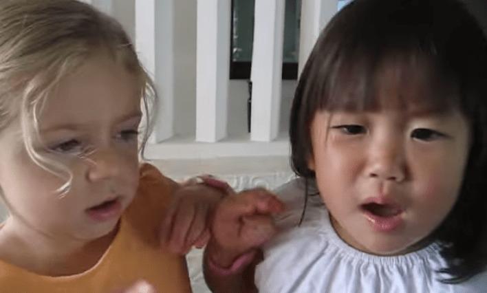「二歳は私よ!」と主張して譲らない少女たちのケンカが可愛すぎるwwwwwww