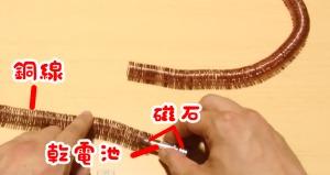 乾電池・磁石・銅線だけで作れる、世界で最もシンプルな「リニアモーターカー」!!!