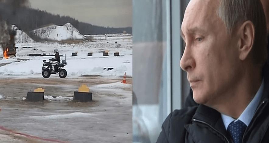 ロシア軍「これが我々が開発したサイボーグ兵です!」プーチン「え..何これ…」
