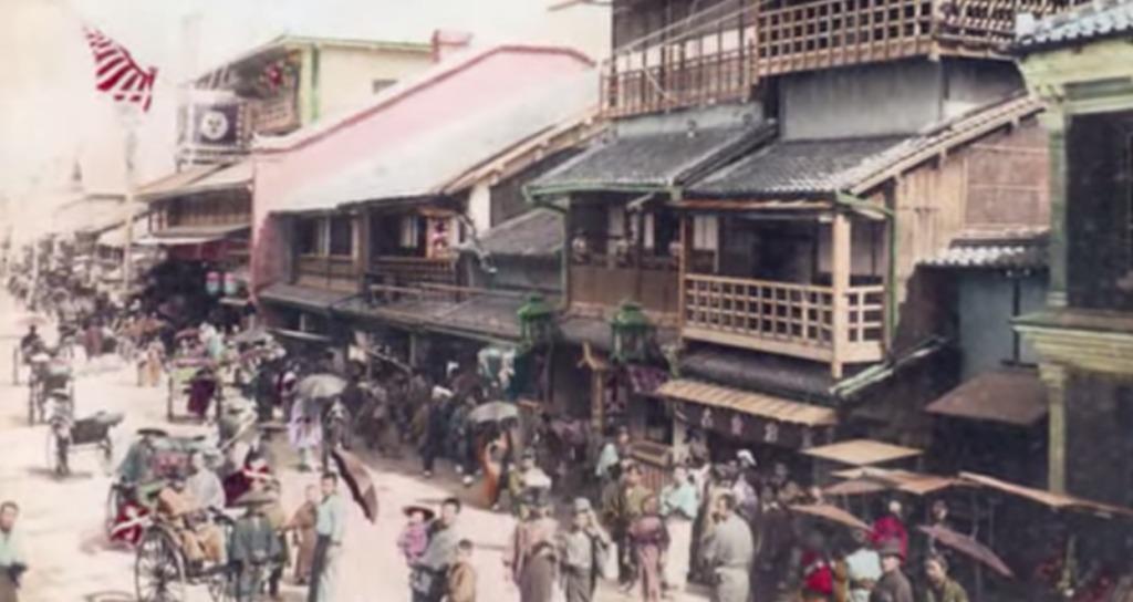 発見された100年前の日本の写真にカラーを付けたら臨場感がスゴかった!まるでタイムスリップしたみたい!!