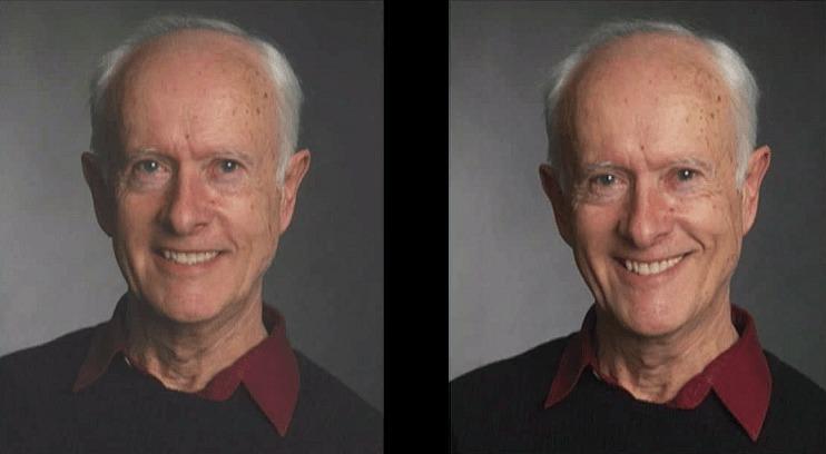 どちらが本物の笑顔で、どちらが作り笑顔かわかりますか?