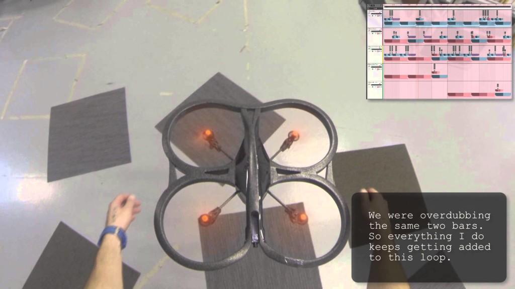 空飛ぶドローンがドンツカドン! ドラムマシンに大変身して、不思議なビートを紡ぎ出す