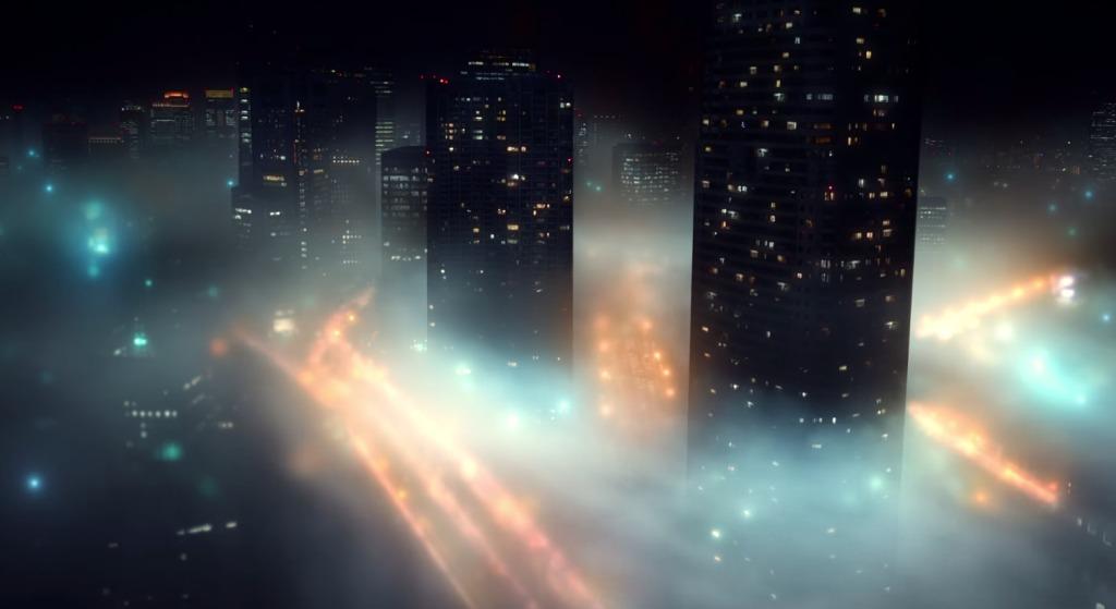 【鳥肌】濃霧に包まれた「東京」の幻想的な姿を撮影した映像作品が美しい!