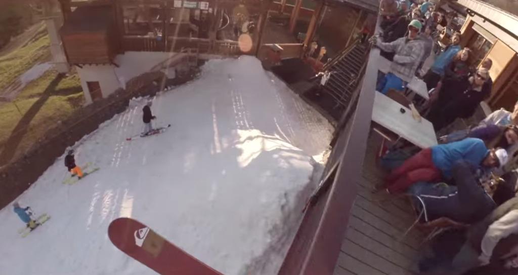 どこでも滑っちゃう!超絶スキーヤーの目線で撮影された視点映像がめちゃ爽快!!