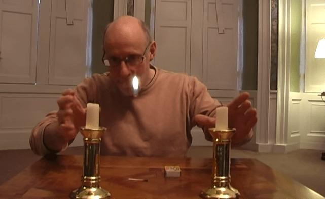 誰でも出来るかも!ロウソクの炎が移動する驚愕のマジック!タネ明かしでめちゃめちゃ納得!!