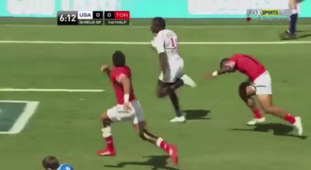 元陸上選手がラグビーをやった結果、速すぎて誰も追いつけなかった!!!