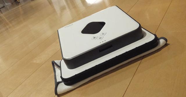 可愛い働き者!話題の床拭きロボット「ブラーバ」が我が家にやってきて、床ピカピカ!