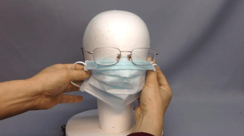 1秒で出来る!マスクをしてもメガネが曇らない超簡単な方法!!!