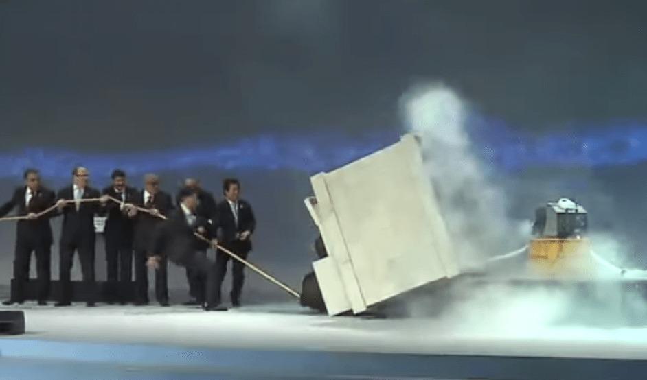 まるでドリフのコント!朴大統領も出席した世界水フォーラムの開幕式でハプニング!!