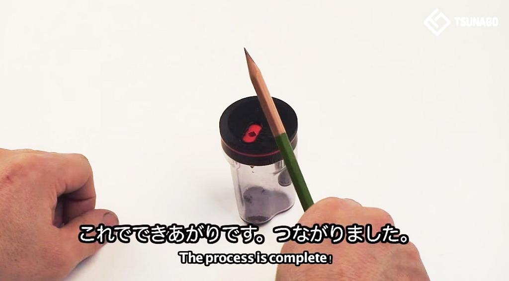 小さくなった鉛筆も「つなげて」最後まで使い切るナイスアイディアな日本の鉛筆削りが世界で注目!!