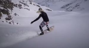 雪山でサーフィン!?波を乗りこなすように雪を乗りこなす凄いヤツら!!