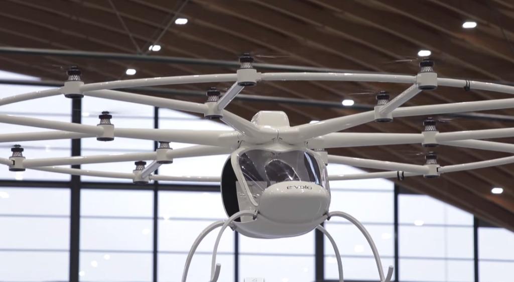 最新有人ドローン「ボロコプター」!実用化に一歩前進!