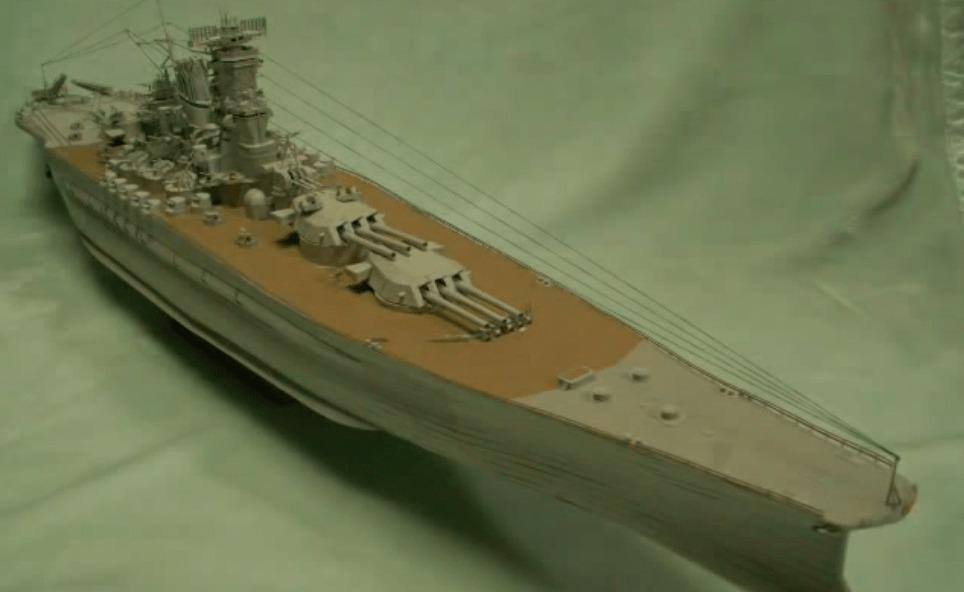 日本の高校生がお菓子の空き箱で作った「戦艦大和」が世界で話題に!!