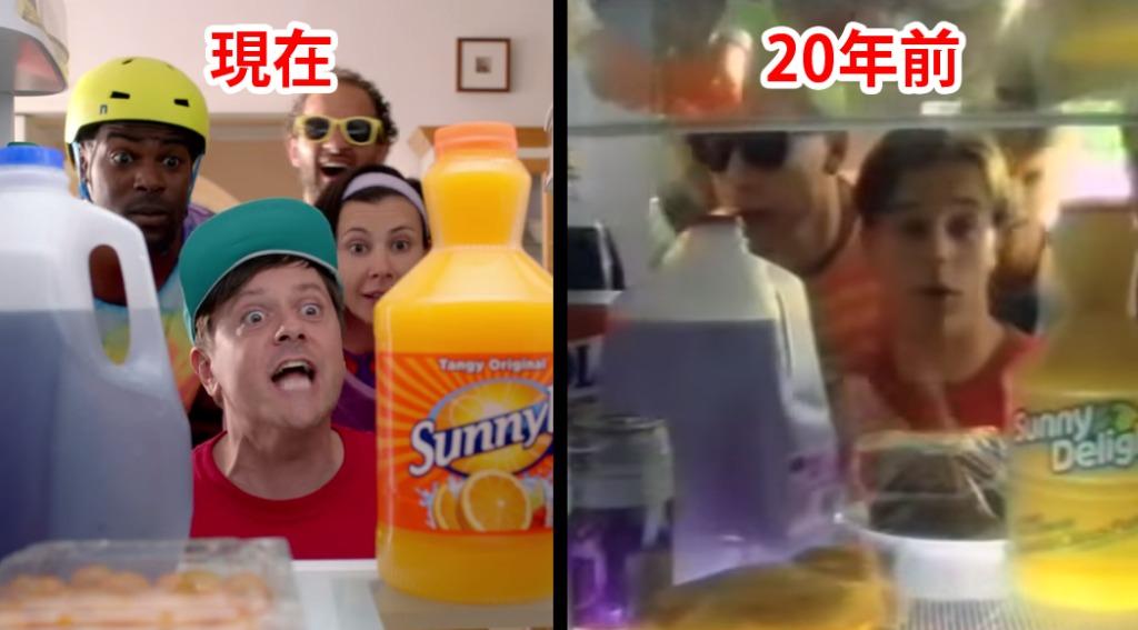 成長しない子供達!?20年前のCM出演者が同じCMを再演技!!