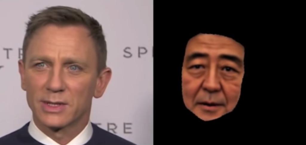 安倍首相をネット上の画像から3D化?!CG化された人物に他人の言葉を喋らせる技術が発表に!!