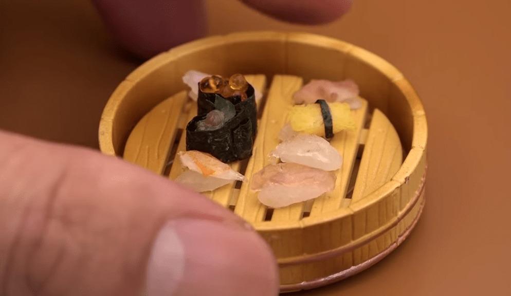 再現クオリティ高い!本当に食べられるミニチュア寿司!!