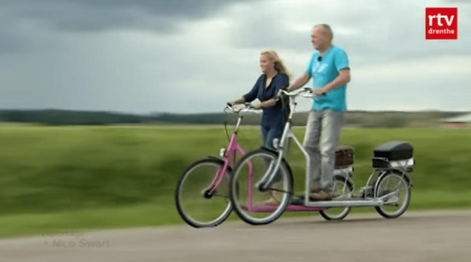 どこでも行ける「歩く歩道」?!自転車とルームランナーの間の子みたいな斬新な乗り物が登場!!
