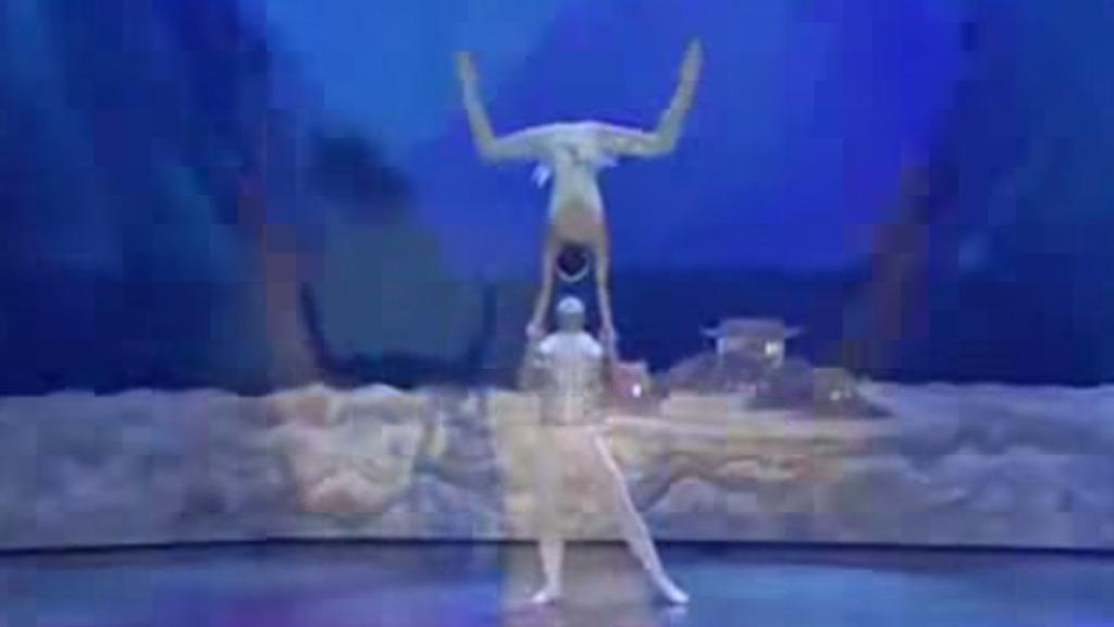 中国のバレエ団の技が凄すぎて、もはやバレエってレベルじゃない(^ ^;)