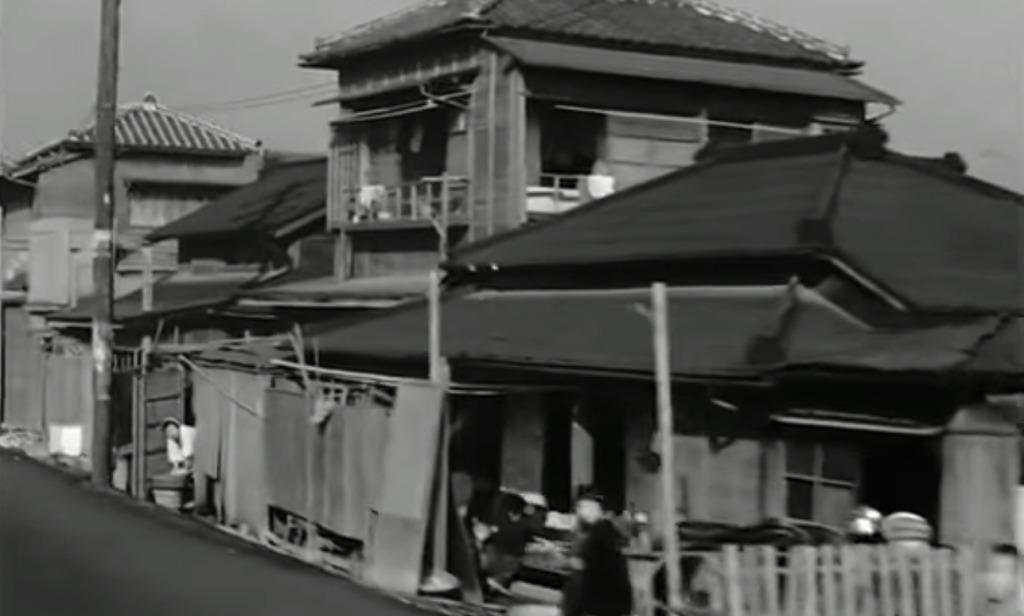 タイムスリップ体験!車窓から見る昭和20年代の日本の街並みがおもしろい!!