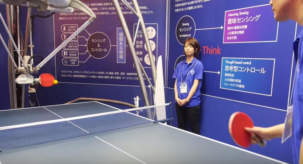外国人「CGでは?」いいえ、これが日本のロボット技術!どんな球でも返してくれる「卓球ロボ」が話題に!!