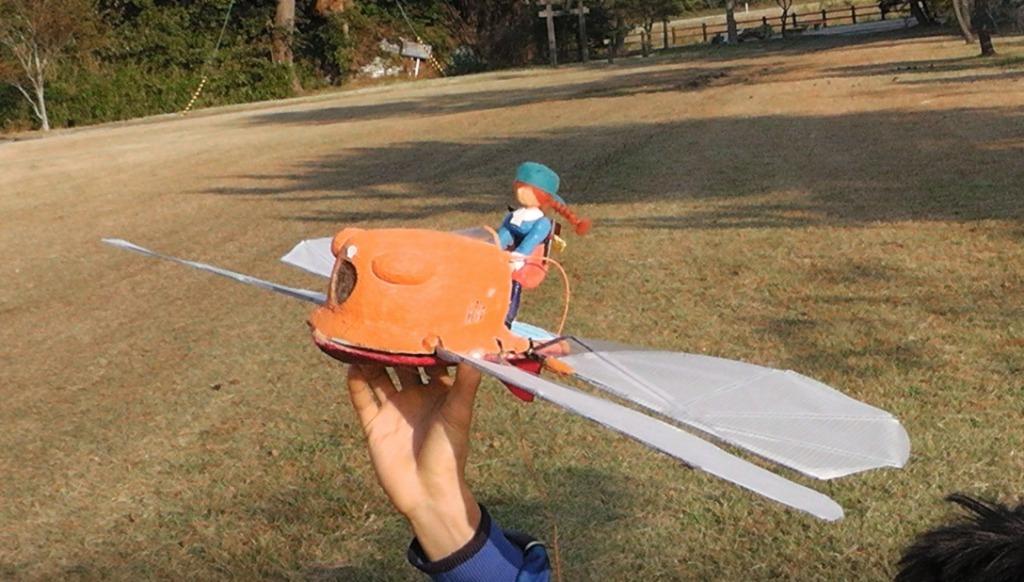 「天空の城ラピュタ」のあの乗り物を日本人がラジコンで忠実に再現!海外で絶賛の嵐!!