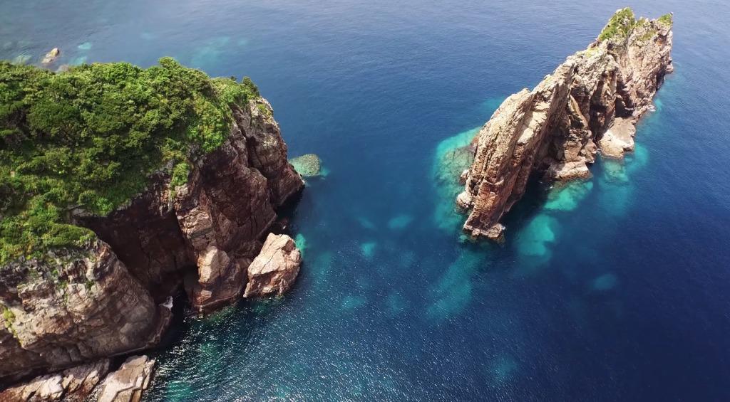 美しい島々をドローンで撮影した鹿児島県のPR動画のクオリティが凄い!!