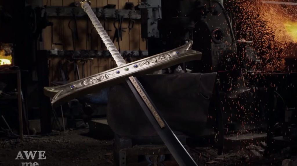 ワンピースに登場するミホークの「黒刀」を鍛冶屋が本気で作ってみた!切れ味もスゴイ!!