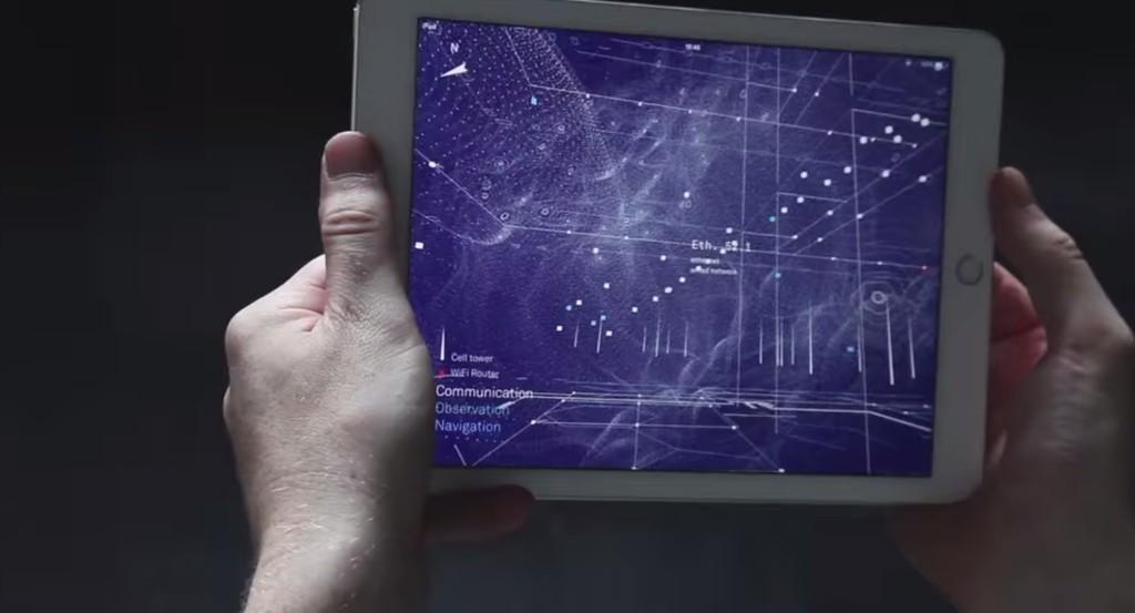 「マトリックス」みたい!無線の電波を視覚化するアプリが凄い!!