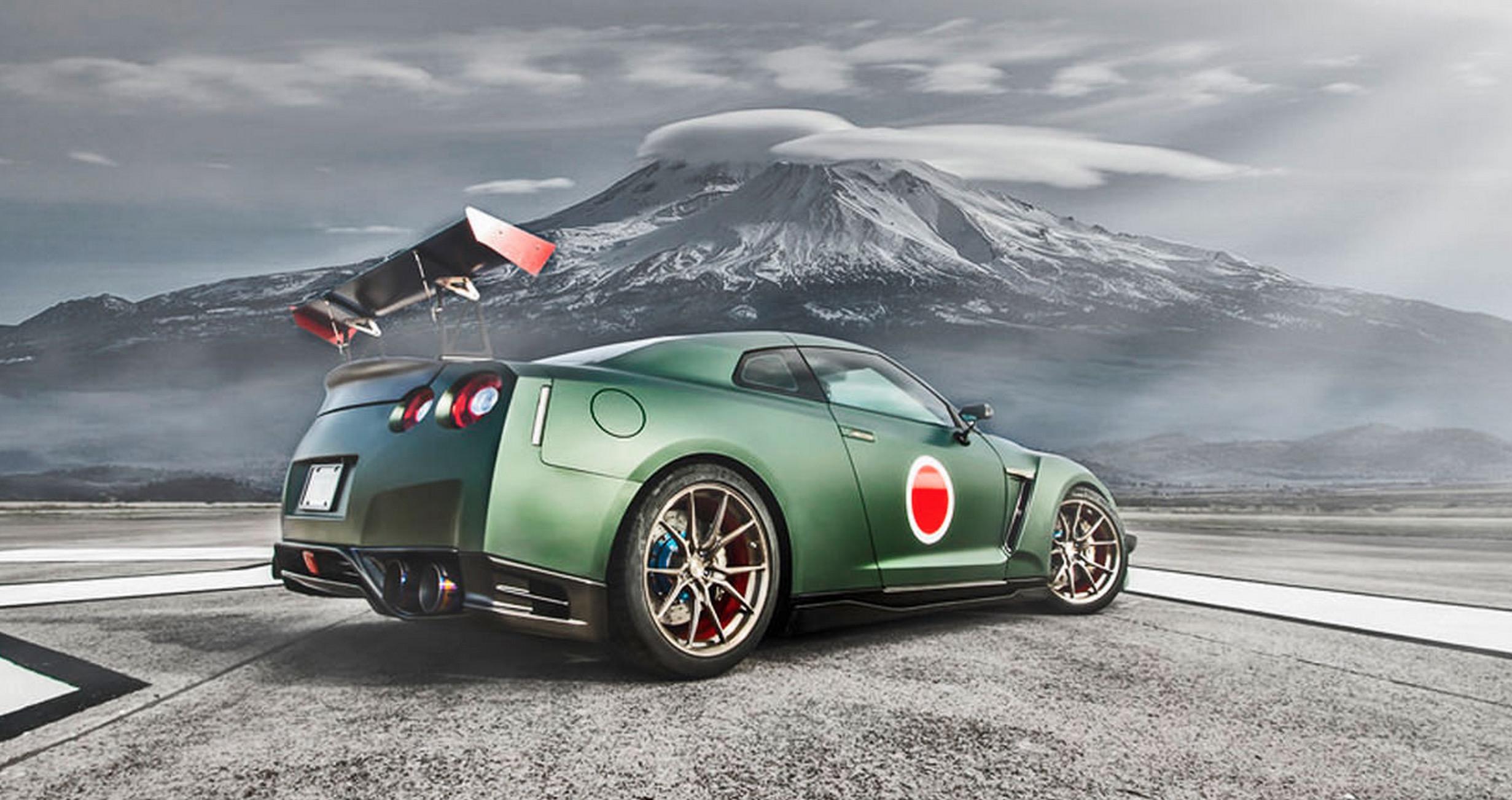 終戦70周年記念!?「ゼロ戦」と「日産GT-R」のコラボカーが公開!!