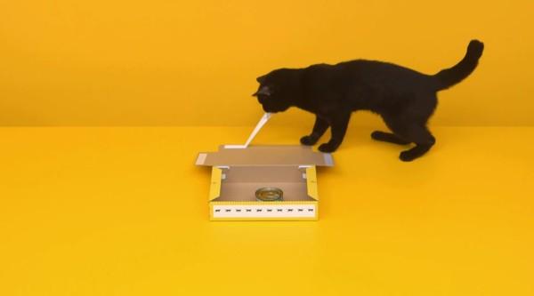 CGじゃない!クロネコが宅急便の箱の組み立てる動画が凄い!!