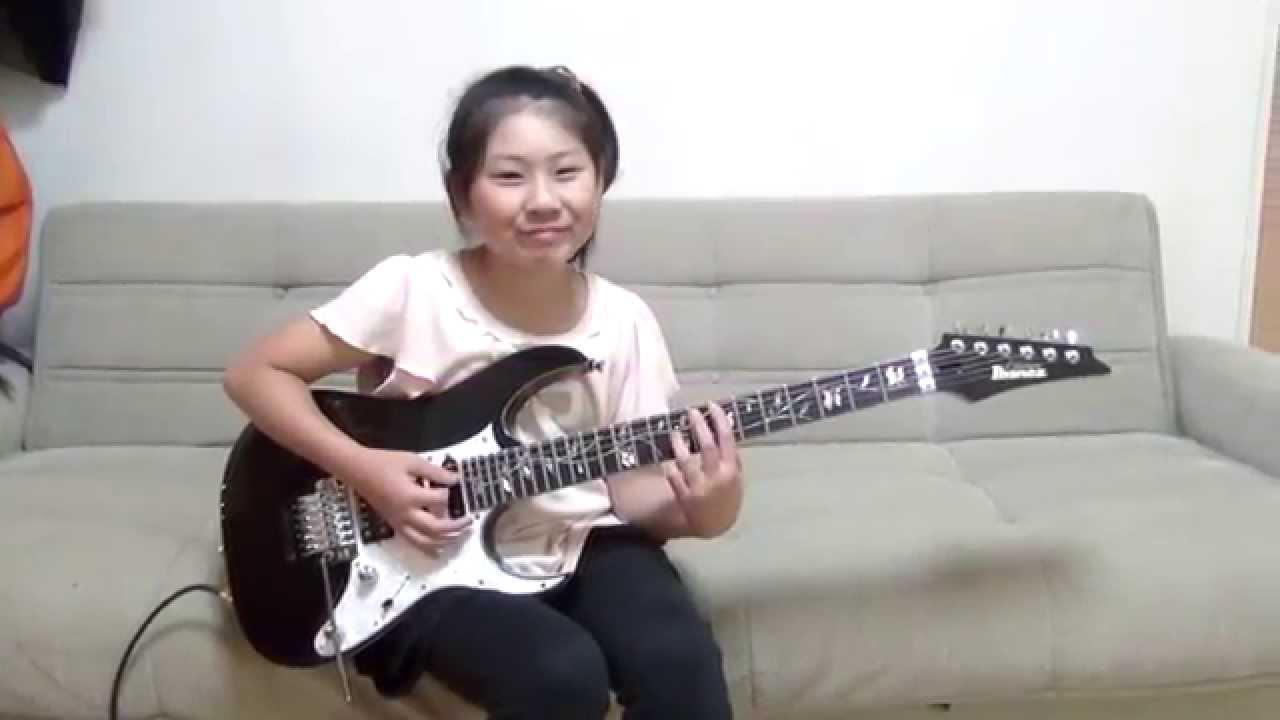 【天才】10歳の日本人少女がプログレメタルの難曲をギターで演奏!世界で話題に!!