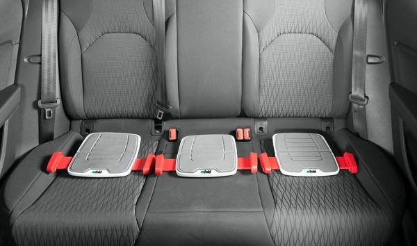 これがチャイルドシート?!安全性もバッチリです。