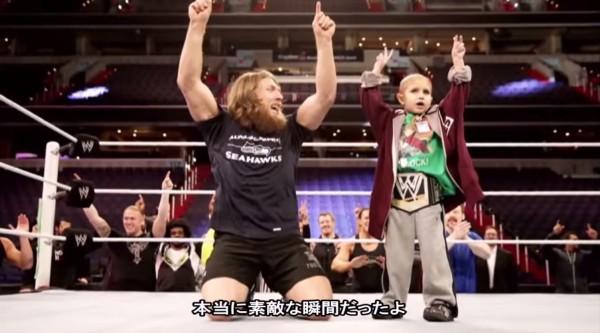 【感動】屈強なプロレスラーたちが、癌と闘う少年へ贈った感動のサプライズ!!【字幕付き】