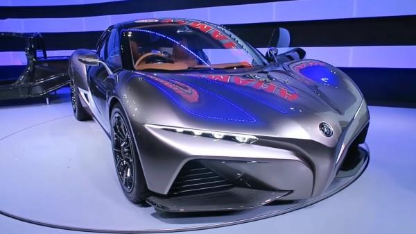ヤマハがなんと四輪スポーツカーを発表!楽器とバイクのコラボみたいな凄い車!!