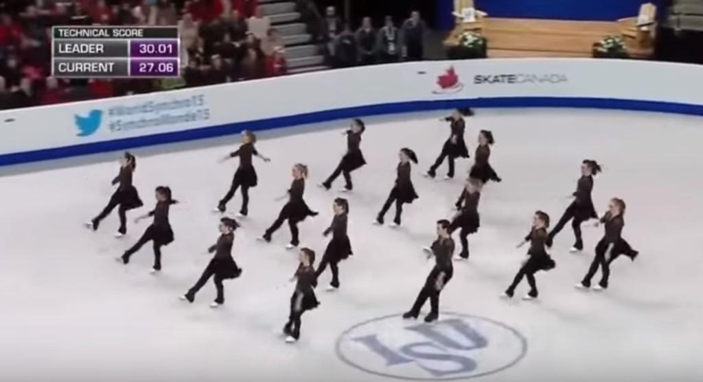 新しい競技「シンクロナイズド・スケーティング」優勝チームの演技が息が止まるほど美しい!!