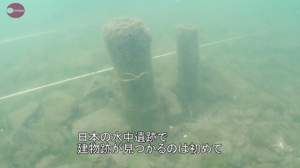 琵琶湖底で水中遺跡が発見される!日本の水中遺跡で建物跡が見つかるのは初めて!!