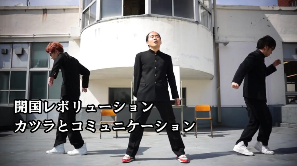 トレンディエンジェル斎藤、歌も上手い!エグスプロージョンと一緒にキレキレダンスで「ペリー来航」!!