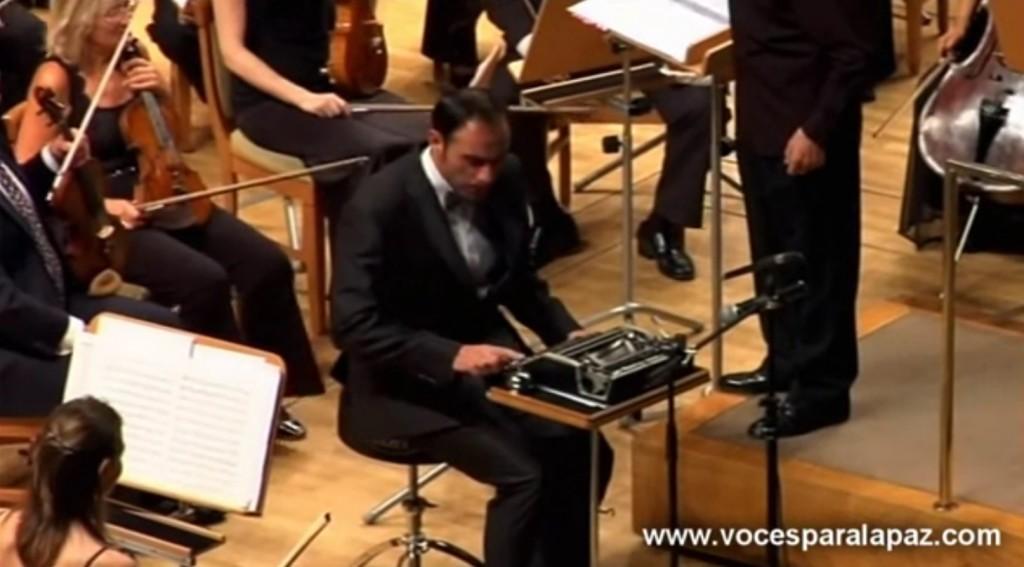 オーケストラでタイプライター!?一体どんな使い方をするのか!?