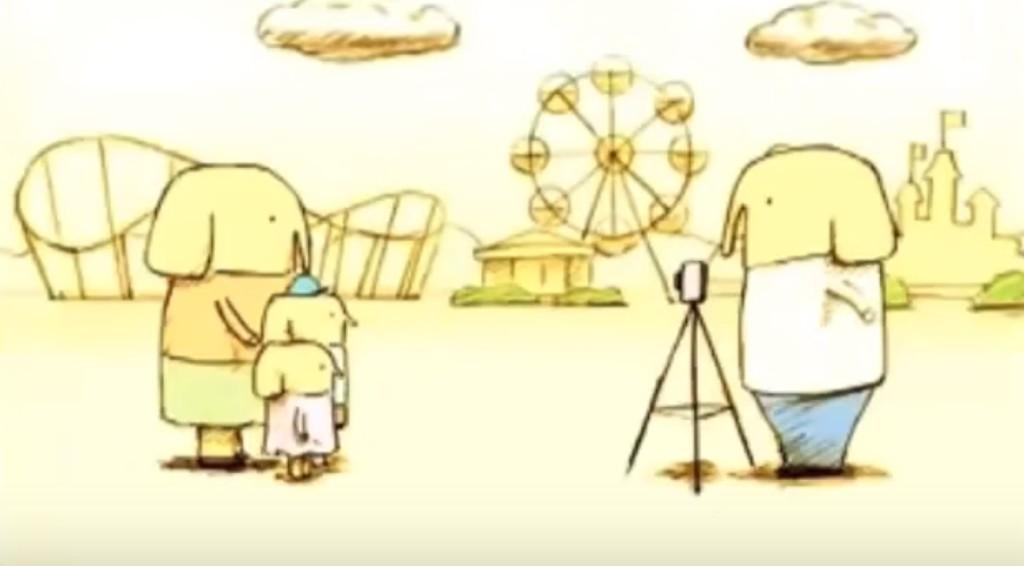 【号泣】ガンで余命半年と宣告されたサラリーマンと家族を描いたアニメ「象の背中」。そして、残された家族を描いた「続編・バトンタッチ」