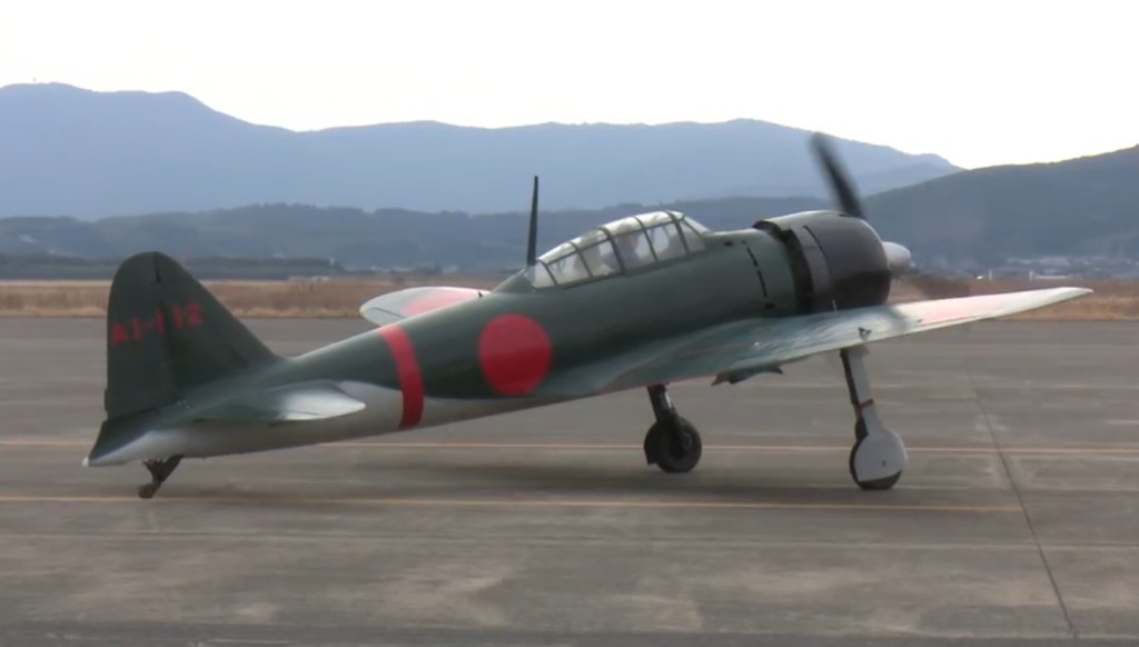 「零戦」日本の大空に再び!コックピット内部・オンボード映像もあり