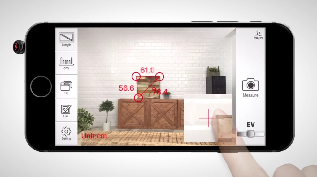 iPhoneカメラで寸法が測れるアプリ&ガジェットが凄い!!