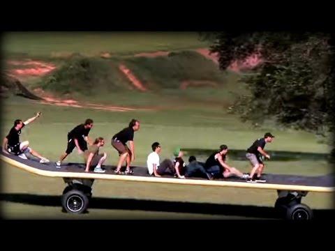 全長11m!ギネス認定された世界最大のスケートボードが想像以上に凄い!